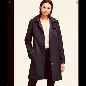 DKNY Waterproof Nylon Trench Rain Coat size 10